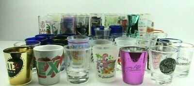 Lot of 48 Shot Glasses Instant Collection