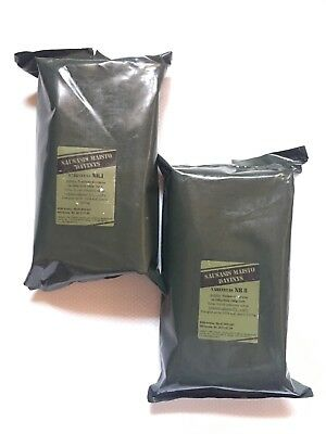Survival Camping Food Lithuania Army Ration Pack Military Meals Ready to Eat MRE