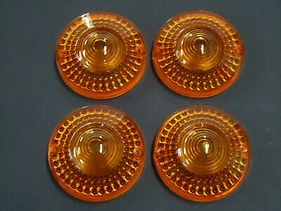 New Early Yamaha RD250 RD400 Set Of 4 Indicator Lenses / XS250 XS400 DT100 DT175