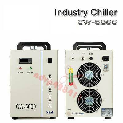 1PCS CW-5000 Industry Water Chiller Cool for 80W 100W CO2 Laser Tube