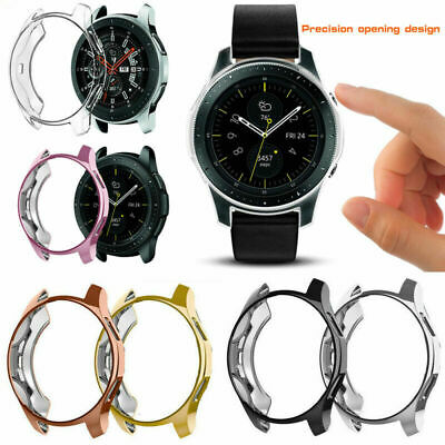 TPU All-Around Cover Case Screen Protector for Samsung Galaxy Watch 42mm/46mm