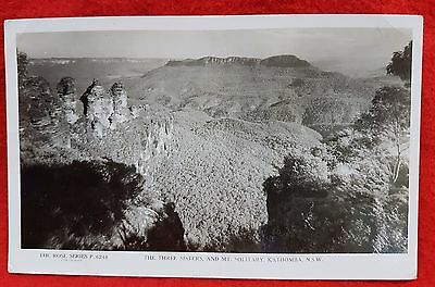 Photo Postcard The Rose Series The 3 Sisters Katoomba Nsw Australia