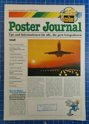 Poster Journal CEWE Color Hausinformation 1984 B22511