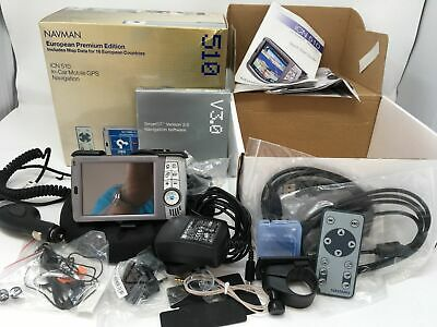 Navman 510 Sat Nav With all accessories box and instructions European Edition