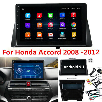 "10.1"" Android 9.1 Radio Stereo Player GPS Wifi 2GB+32GB for Honda Accord 2008-12"