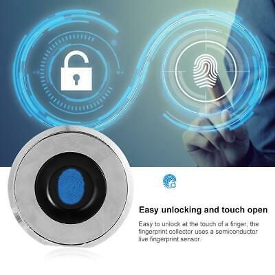 Anti-Theft Smart Fingerprint Keyless Sperren für Office-Aktenschrank Schublade
