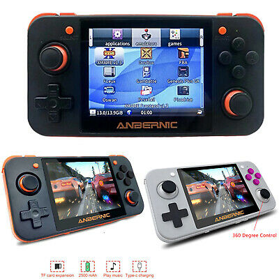 RG350 Linux System Handheld Retro Video Game Console Mini 3.5 Inch IPS Screen