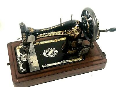 Antique Singer 28K Hand Crank Sewing Machine c1897 - FREE Shipping  [5597]