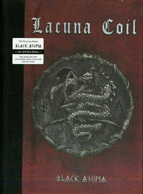 Lacuna Coil Black Anima 2 Cd + Book 32 Pagine Incluso Tarot Cards Limited Edt.