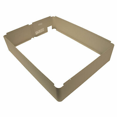 TPI Fan Forced Wall Heater Surface Mounting Frame, White