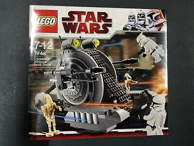 Lego 7748 Star Wars Corporate Alliance Tank Droid, MISB OVP TOP