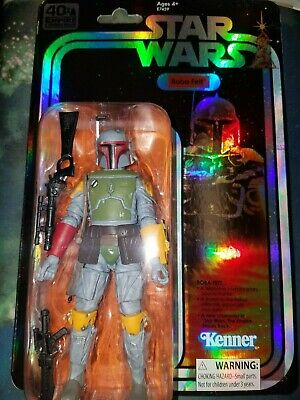 SDCC 2019 Hasbro Boba Fett  Star Wars 40th Anniversary Action Figure - NEW MINT!