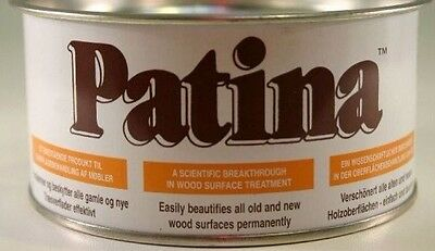 Wood wax oil polish USE *PATINA* BRINGS OUT NATURAL GRAIN