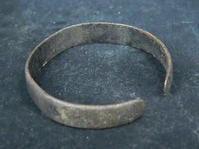 Ancient Bronze Bracelet Islamic 1300 AD No Reserve #BR1922