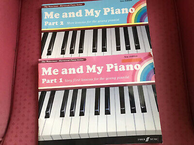 Me And My Piano Part 1 & 2 Books