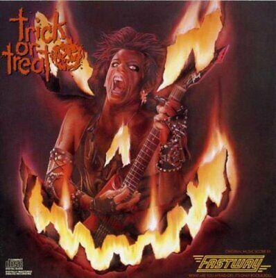 Fastway - Trick or Treat CD ALBUM  NEW(15THNOV)
