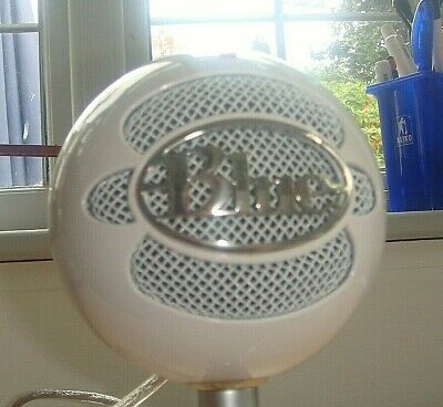 Blue Snowball Microphones  iCE USB Cardioid Microphone - White with cable