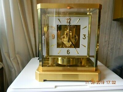 Jaeger lecoultre atmos clock in good working order just serviced