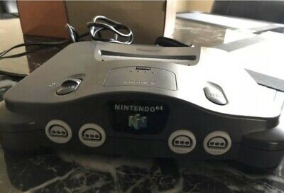 nintendo 64 console + 3 Controllers And Cords