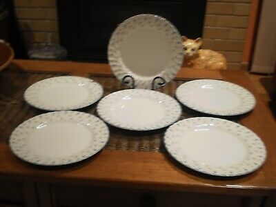"""Johnson Brothers Made In England """"Melody""""  Dinner Plates - Set Of 6"""