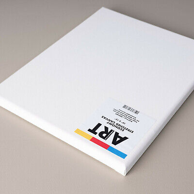 ARTdiscount Boxes of ECONOMY Blank Stretched Canvases