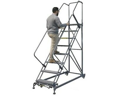 """Stairway Slope Ladder SW1032G 100"""" Overall Height 133"""""""