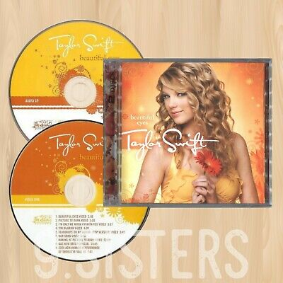 TAYLOR SWIFT Beautiful Eyes EXCLUSIVE CD+DVD Previously Unreleased I HEART  1017