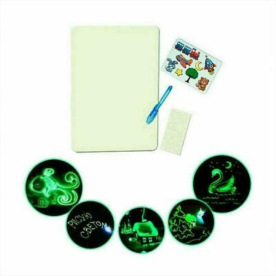 Educational Draw With Light Fun & Developing Toy Drawing Draw Gifts Magic B W3E4