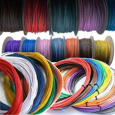 Single Core 12V 24V Thin Wall Stranded Red/Blue/Black/Purple Auto Cable Wire