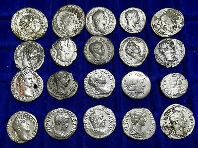Ancient Roman Republic & Imperial Silver Coins LOT7 - 20 pieces SEE PICTURE!!