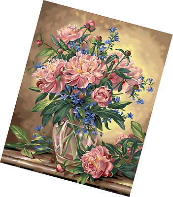 Colourful Blooms DPW91678 Paintsworks Paint by Numbers