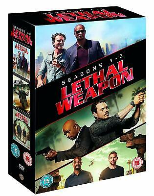 Lethal Weapon: Complete Seasons 1-3 (11 Discs) DVD NEW & SEALED
