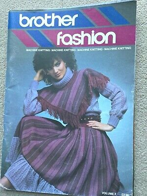 Brother Knitting Fashion Magazine with LOADS Patterns Vol 2 & Punchcard Diagrams