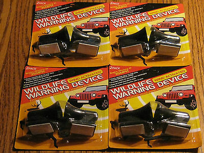 Deer whistles Four Packages  (8 whistles )  FREE SHIPPING