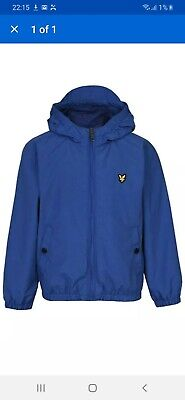 Lyle And Scott Junior Boys Hooded Jacket - Age 3-4 Years
