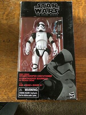 Hasbro Star Wars The Black Series 6-Inch First Order Stormtrooper Executioner