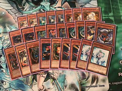 Yugioh Chaos Dragon Lightsworn Deck Core Tournament Ready Red-Eyes Darkness
