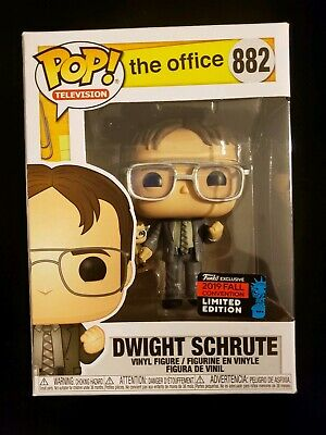 Funko POP! The Office Dwight Schrute #882 2019 NYCC Shared Exclusive In Hand