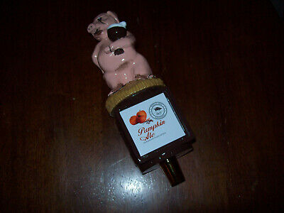 Stevens Point Brewery Whole Hog Pumpkin Ale Beer Tap Handle New!