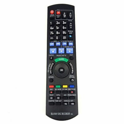 Replacement For Panasonic BLU-RAY DISC RECORDER Remote control for DMRPWT520 DMR