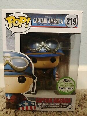 Captain America 219 Funko POP, 2017 Spring Convention Exclusive