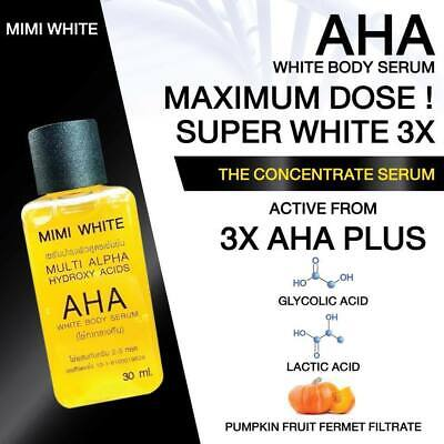 Mimi Blanc Multi Alpha Aha Blanc Corps Serum Blanchissant & Blanchiment 30ml