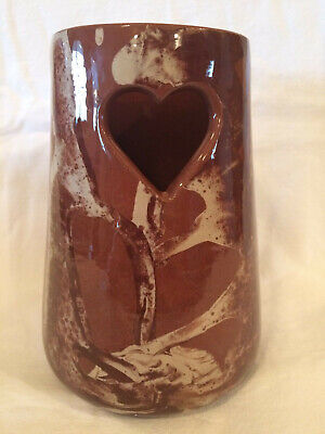 Clays In Calico Cardwell Montana 2002 Vase/Crock 7 1/4 Inches Tall