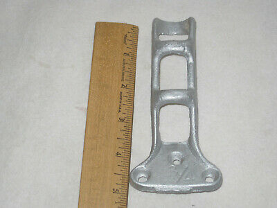 Vintage Cast Iron Flag Pole Holder  3/4""