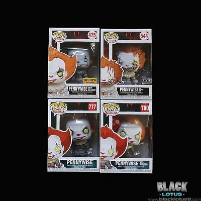 Funko Pop! Pennywise with Balloon Wrought Open Arms IT Chapter 2 Pop Hot Topic