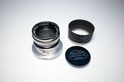 Kern Aarau Switar 50mm f/1.8 AR Lens for Alpa Mount