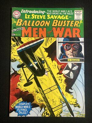 Vintage All American Men of War Golden Age comic book, no. 112, 1955, DC