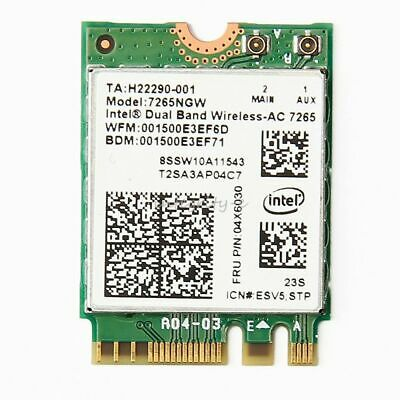 Intel 7265.NGWWB.W 7265 Dual Band AC1200 PCI Express M.2 2230 Wireless WiFi  WP.