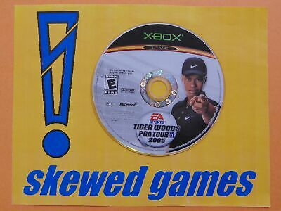 Tiger Woods PGA Tour 2005 - Disc Only - XBox Microsoft