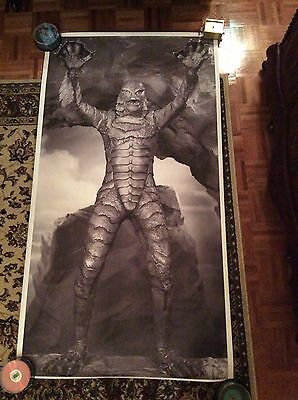 RARE 6 Foot Creature From The Black Lagoon Giant Display Poster